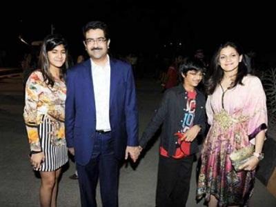 Ananyashree, Aryaman Vikram and Advaitesha Birla