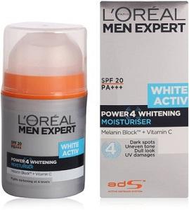 Loreal Paris Men Expert White ActivPower4 Whitening Moisturizer