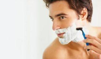 Man Shaving Cream