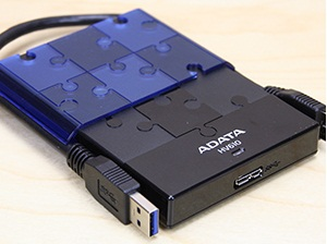 ADATA DashDrive HV610 1TB USB 3.0 & USB 2.0