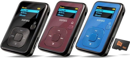 Sandisk Sansa Clip 4 GB MP3 Player