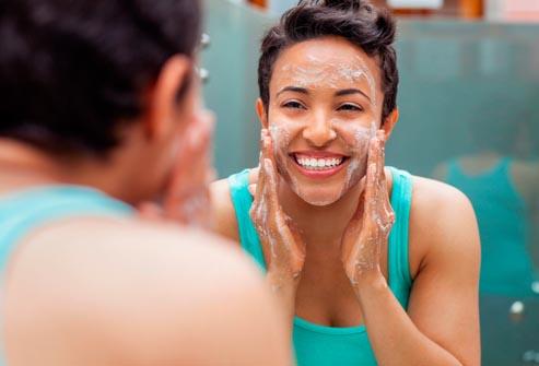 face soap