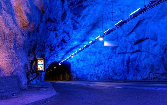 Laerdal Tunnel, Norway