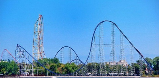 Millennium Force - Cedar Point Park, United States