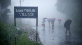 Mawsynram, Meghalaya, India