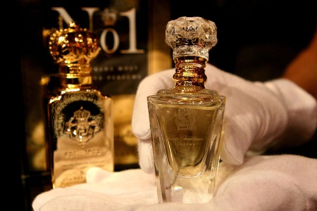 Top ten most expensive perfumes in the world world blaze for Clive christian perfume