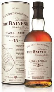 The Balvenie Single Barrel Sherry Cask 15 Year Old