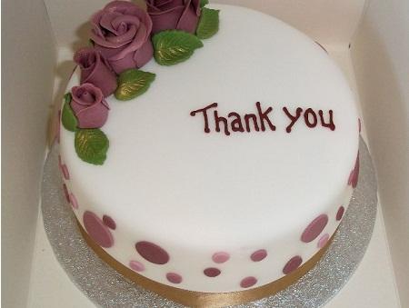 """A """"Thank You"""" Cake"""
