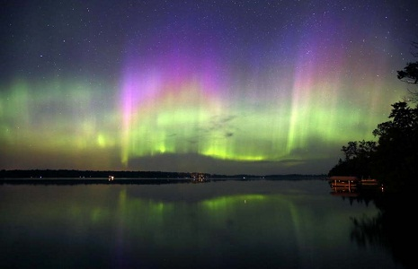 Aurora Borealis, Northern Hemisphere