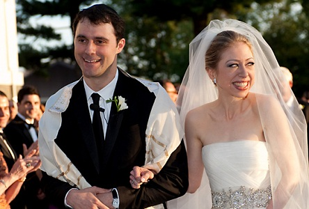 Chelsea Clinton and Marc Mezvinsky