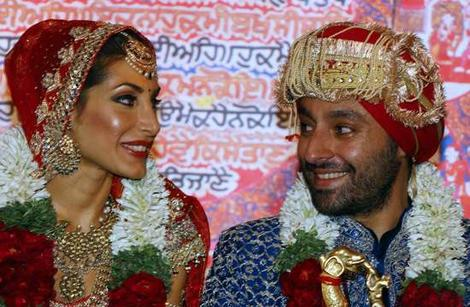 Vikram Chatwal & Priya Sachdev