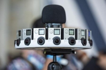 GoPro VR Camera Rig