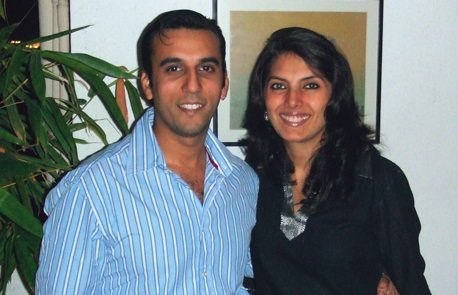 Aamir Sharma and Hameeda