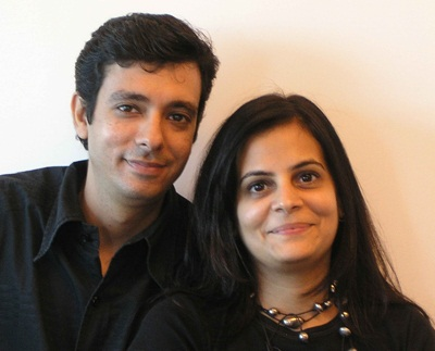 Sanjeev Punjabi and Sangeeta Merchant