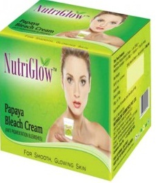 Nutriglow Papaya Bleach Cream