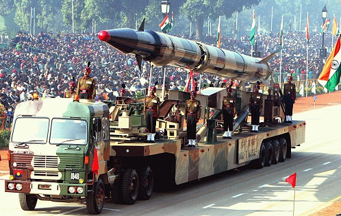 agni and prithvi missiles