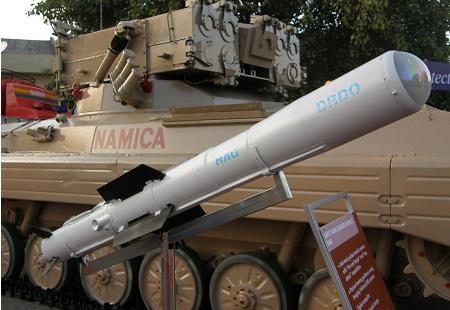 NaMiCa (Nag Missile Carrier)