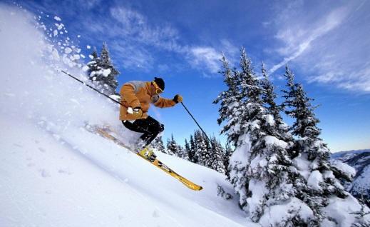 Skiing Pahalgam