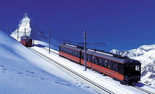 A trip to The Gornergrat Railway