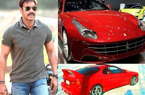 Ajay Devgan cars collection