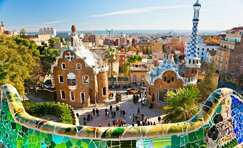 Journey to Parc Guell