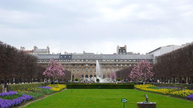 The Palais-Royal Gardens