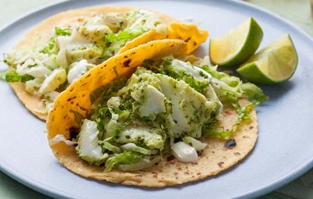 Halibut Soft Tacos