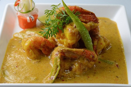 Malai Prawn Curry
