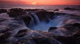 Natural Salt Water Fountain