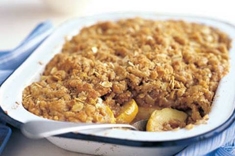 Oat Crumble Apple