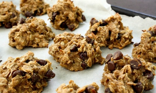 Raw Banana Oatmeal Cookies