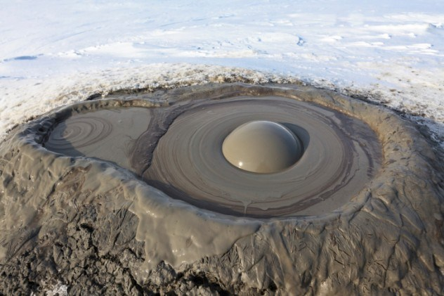 The Gwadar Mud Volcano
