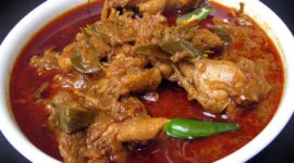 Andhra-Style Chicken Curry