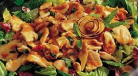 Chicken Salad with Plums