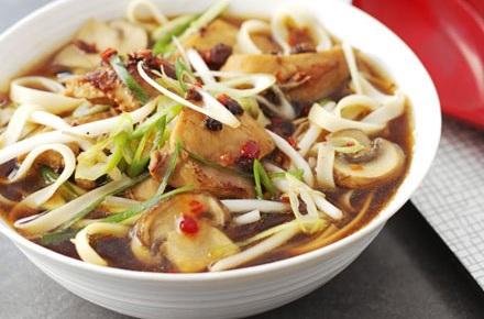 Hot Noodle Soup
