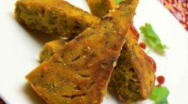 Kaju Kothimbir Vadi