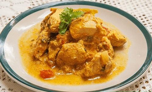 Low-Fat Dahi Chicken