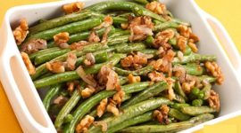 Walnut Oil Sautéed Green Beans