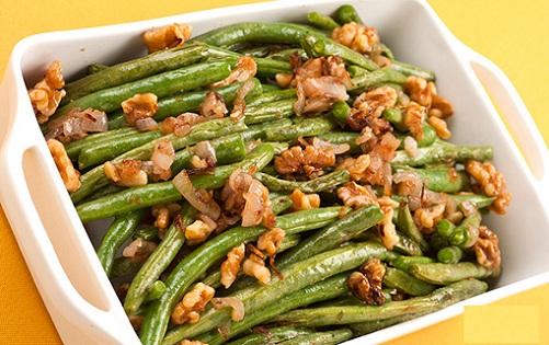 Walnut Oil Sautéed Green Beans