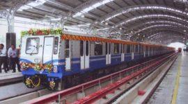Kolkata Metro Train