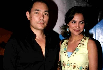 Lara Dutta and Kelly Dorjee