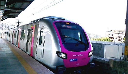Mumbai Metro Train