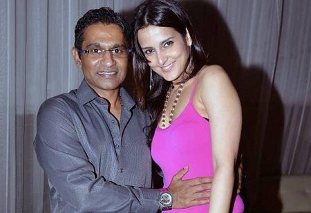 Tulip Joshi and Captain Vinod Nair