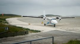 Barra Airport, Scotland