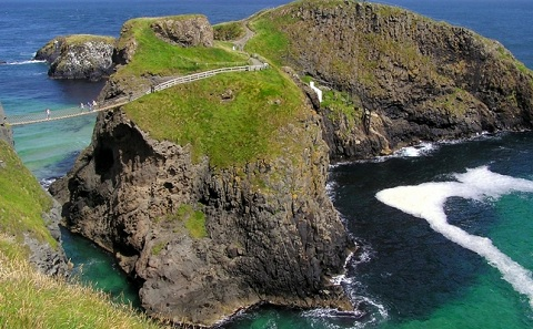 Carrick-A-Rede Rope Bridge - United Kingdom