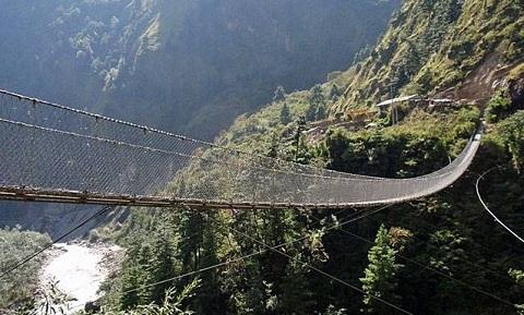 Ghasa Bridge - Nepal