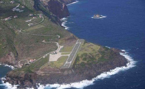 Saba Airport, Caribbean
