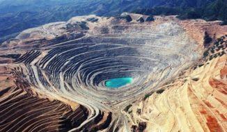 Bingham Canyon Mine in Utah