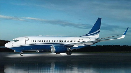 """Boeing Business Jet A.K.A. """"The Flying Hotel"""""""