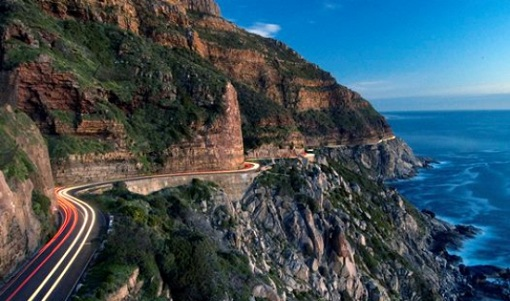 Chapman's Peak Drive in South Africa